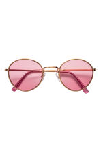 Sunglasses - Gold/Pink - Ladies | H&M 2
