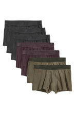 7-pack trunks - Khaki green - Men | H&M CN 2