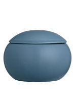Cofanetto in gres - Blu scuro - HOME | H&M IT 1