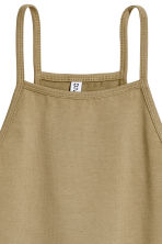 Cropped top - Khaki - Ladies | H&M 3