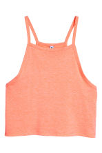 Crop top - Oranje - DAMES | H&M BE 2
