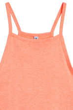 Crop top - Oranje - DAMES | H&M BE 3