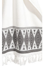 Hand towel with embroidery - White - Home All | H&M CN 2