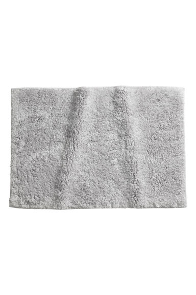 Bath mat - Light grey - Home All | H&M CN 1