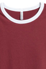 T-shirt corta - Bordeaux - DONNA | H&M IT 3