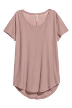 Top in jersey increspato - Rosa nebbia - DONNA | H&M IT 2