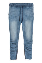 Slim Low Joggers - Denim blue/Washed - Men | H&M CN 1