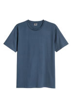 Premium cotton T-shirt - Dark blue - Men | H&M 2