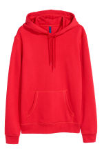 Hooded top - Red - Men | H&M CA 1