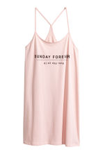 Jersey nightslip - Light pink - Ladies | H&M 2