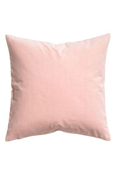 Velvet cushion cover - Dusky pink - Home All | H&M GB 1