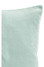 Velvet cushion cover - Light green - Home All | H&M CN 2