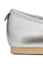 Ballet pumps with strap - Silver-coloured - Kids | H&M 3