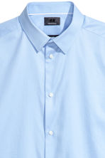 Premium cotton shirt - Light blue - Men | H&M 3