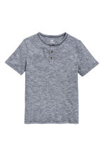 Slub jersey T-shirt - Dark blue - Kids | H&M 2