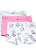 3-pack boxer briefs - Pink - Kids | H&M 3