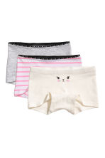3-pack boxer briefs - Grey - Kids | H&M CN 1