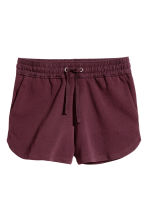 Sweatshirt shorts - Plum - Ladies | H&M 2