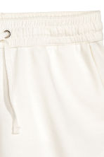 Sweatshirt shorts - White - Ladies | H&M 3