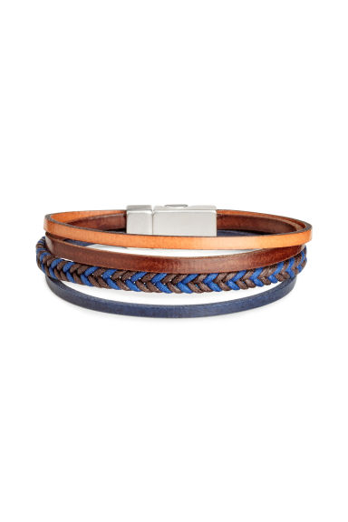 Multistrand bracelet - Blue - Men | H&M CA 1