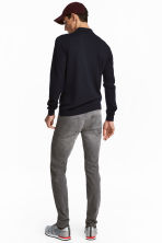 Skinny Low Jeans - Grey denim - Men | H&M CA 4