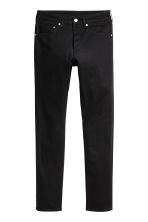 Skinny Low Jeans - Black denim - Men | H&M CA 2
