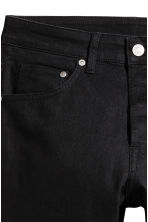 Skinny Low Jeans - Black denim - Men | H&M CN 4
