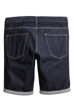 Denim shorts - Dark denim blue - Men | H&M 3