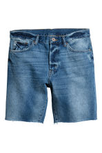 Denim shorts - Denim blue - Men | H&M CN 2