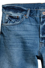Denim shorts - Denim blue - Men | H&M CN 4