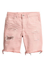 Short en jean - Denim rose clair - HOMME | H&M CH 2