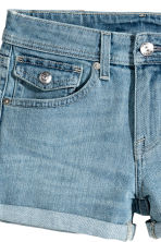 Denim shorts - Denim blue - Ladies | H&M CA 4