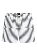 Short shorts - White/Striped - Men | H&M 2