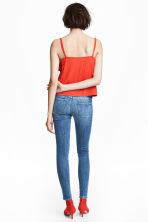 Super Skinny Low Jeans - Denim blue/Washed - Ladies | H&M 4