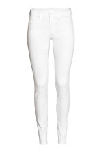 Super Skinny Low Jeans - White denim - Ladies | H&M CN 2