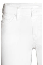 Super Skinny Low Jeans - White denim - Ladies | H&M 4