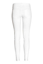 Super Skinny Low Jeans - White denim - Ladies | H&M CN 3