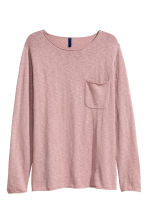Fine-knit jumper - Old rose - Men | H&M 2