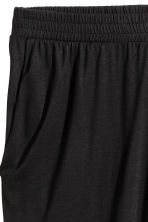 H&M+ Jersey trousers - Black - Ladies | H&M 3