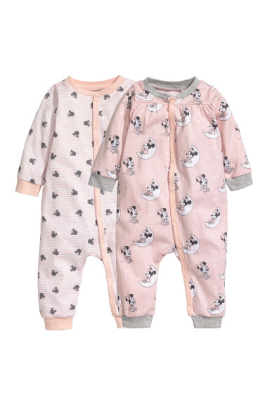 Lot de 2 pyjamas - Rose/Minnie -  | H&M FR 1