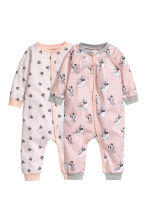 Set van 2 pyjamapakjes - Roze/Minnie Mouse -  | H&M BE 1
