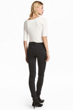 Feather Soft Low Jeggings - Black denim - Ladies | H&M 5