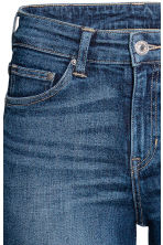 Straight Regular Jeans - Dark denim blue - Ladies | H&M GB 5