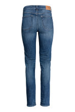 Straight Regular Jeans - Dark denim blue - Ladies | H&M GB 3