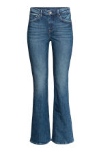 Boot cut Regular Jeans - Dark denim blue - Ladies | H&M 2
