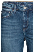 Boot cut Regular Jeans - Dark denim blue - Ladies | H&M 4