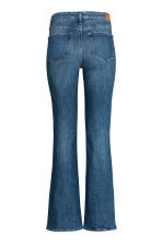 Boot cut Regular Jeans - Dark denim blue - Ladies | H&M 3