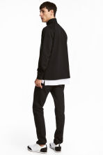 Slim Low Jeans - Black denim -  | H&M 5