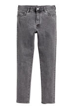 Slim Low Jeans - Dark grey denim - Men | H&M CA 2