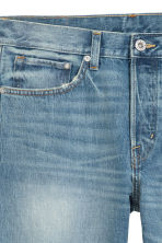 Straight Jeans - Blue washed out - Men | H&M 6
